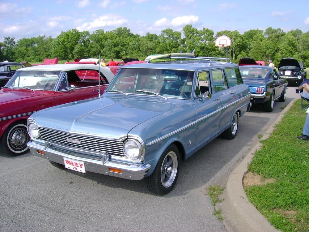 1962-1964 Chevy II Nova Tail Lamp Mounting Panel New