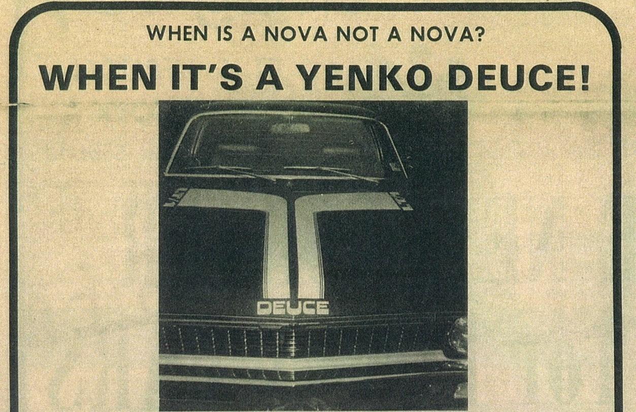"Yenko ""Trans-Am Deuce"" Nova?"
