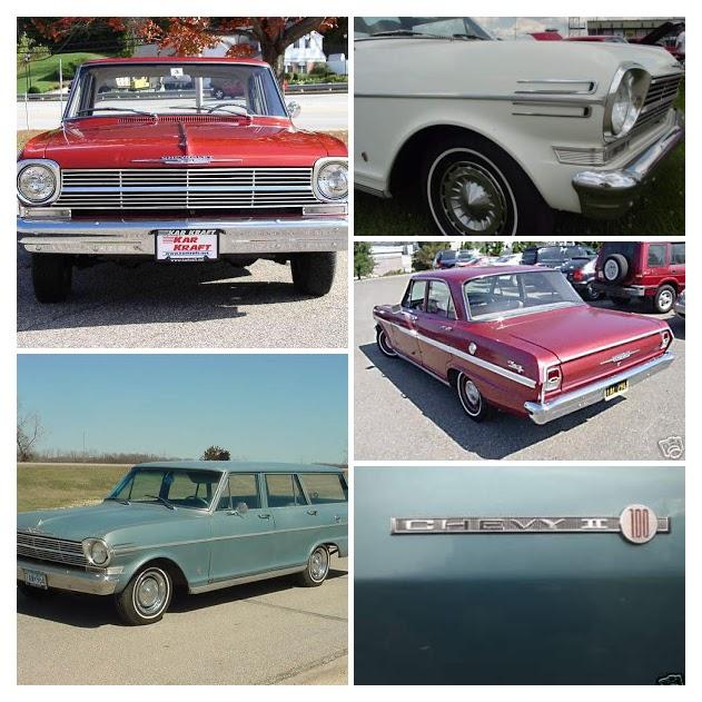 1962 Chevy II Nova Models