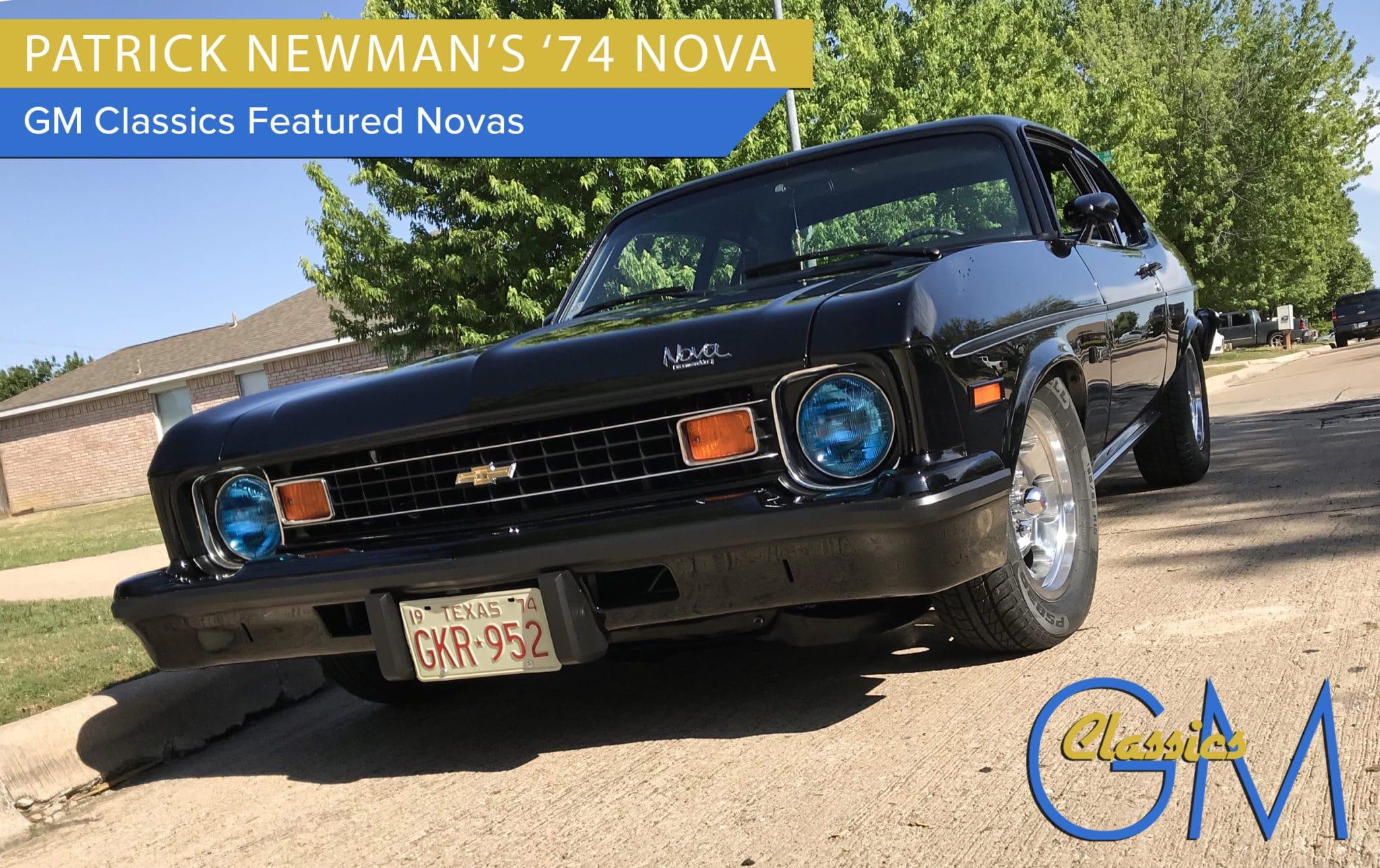 Patrick Newman's 1974 Nova